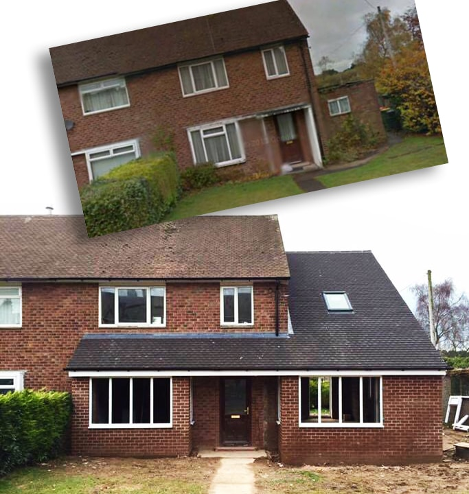 Home extension hanson building group preston builders for Preston house