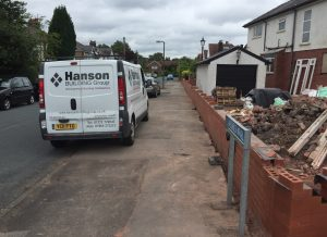 Builders in Penwortham - Garden Wall