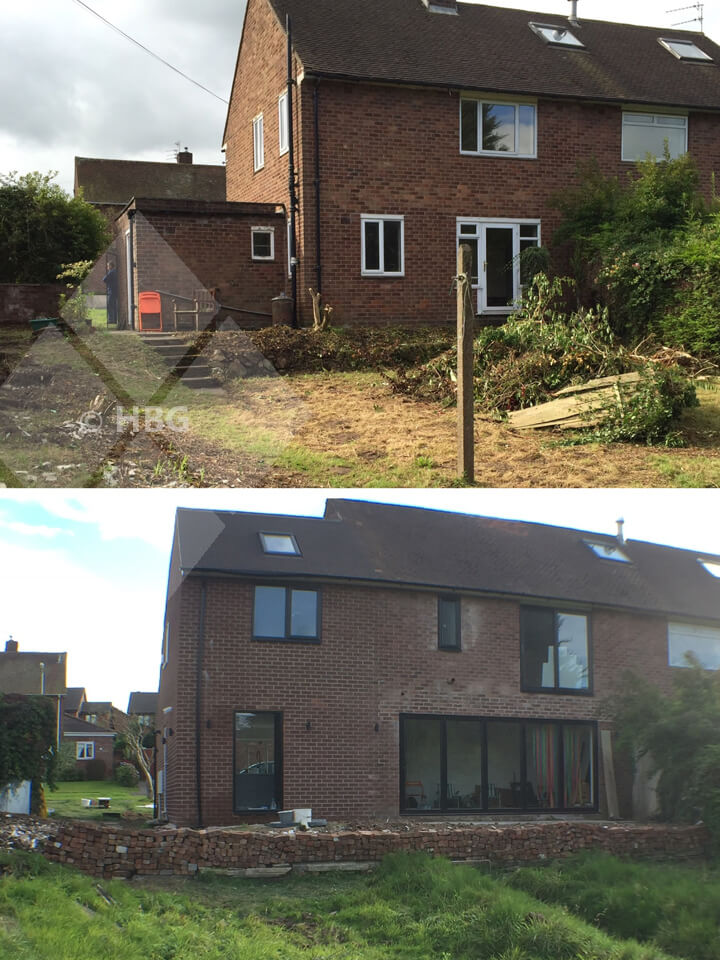 Double storey house extension preston builders in for Preston house